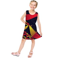 Fractal Ribbons Kids  Tunic Dress