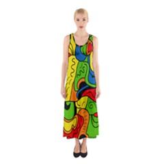 Mexico Sleeveless Maxi Dress