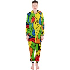 Mexico Hooded Jumpsuit (Ladies)