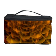 Yellow Flower Cosmetic Storage Case
