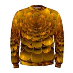 Yellow Flower Men s Sweatshirt