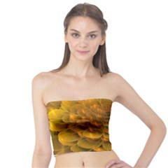 Yellow Flower Tube Top