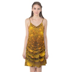 Yellow Flower Camis Nightgown