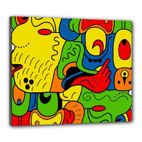 Mexico Canvas 24  x 20