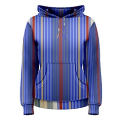 Colorful Stripes Women s Pullover Hoodie