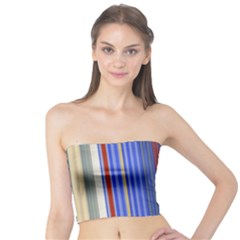 Colorful Stripes Tube Top