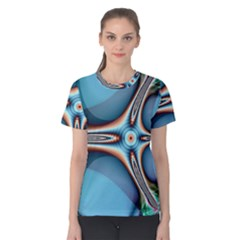 Fractal Beauty Women s Cotton Tee