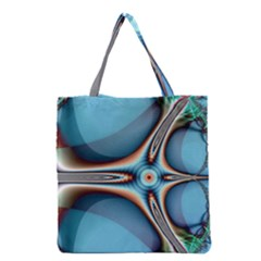 Fractal Beauty Grocery Tote Bag