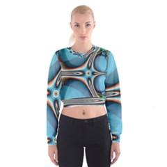 Fractal Beauty Women s Cropped Sweatshirt