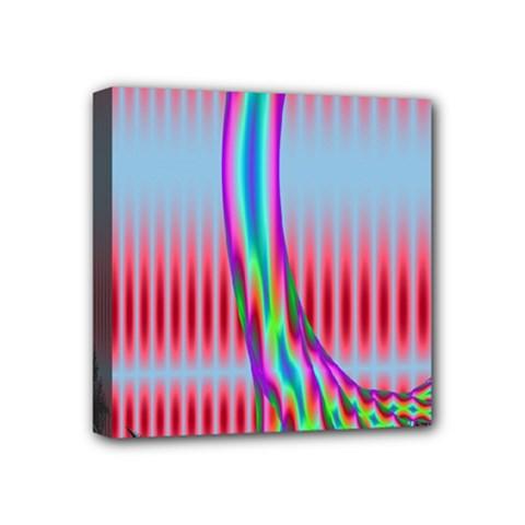 Fractal Tree Mini Canvas 4  x 4
