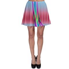 Fractal Tree Skater Skirt