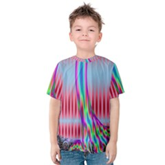 Fractal Tree Kids  Cotton Tee