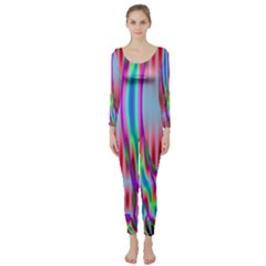 Fractal Tree Long Sleeve Catsuit
