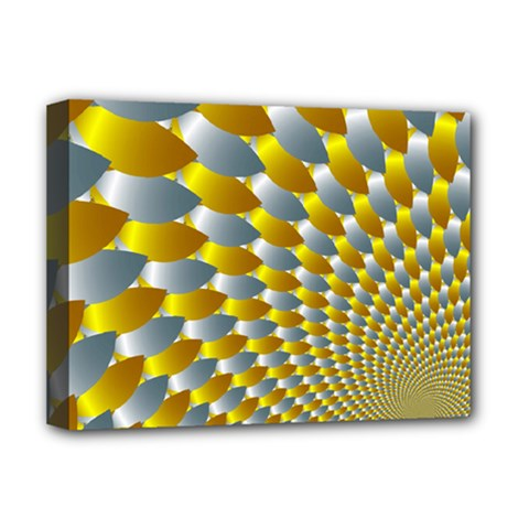 Fractal Spiral Deluxe Canvas 16  x 12
