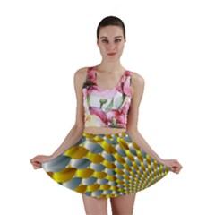 Fractal Spiral Mini Skirt