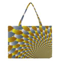 Fractal Spiral Medium Tote Bag