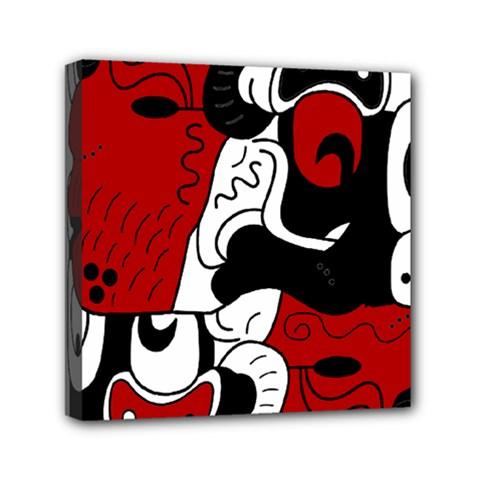 Mexico Mini Canvas 6  x 6