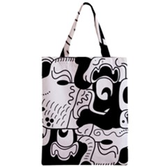 Mexico Zipper Classic Tote Bag