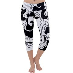 Mexico Capri Yoga Leggings