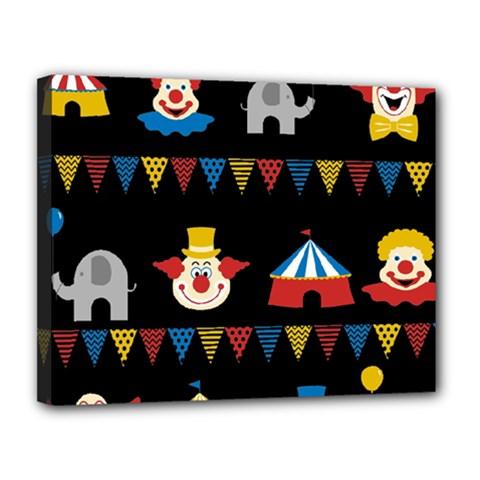 Circus  Canvas 14  x 11