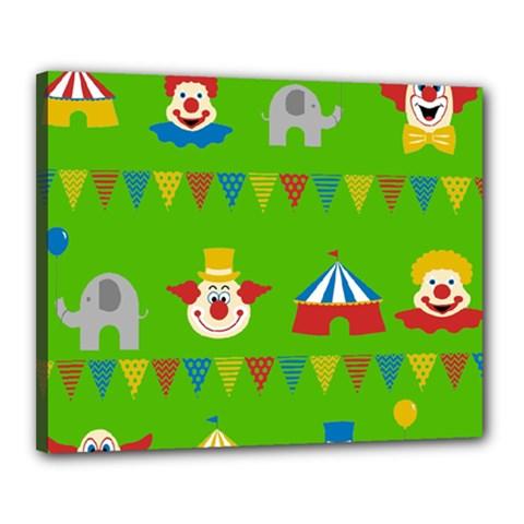 Circus Canvas 20  x 16