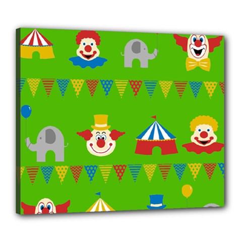 Circus Canvas 24  x 20