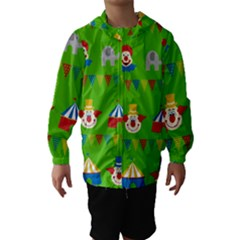 Circus Hooded Wind Breaker (Kids)