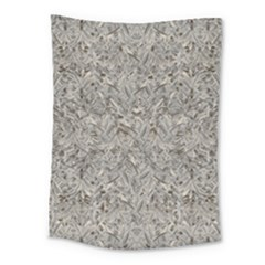 Silver Tropical Print Medium Tapestry