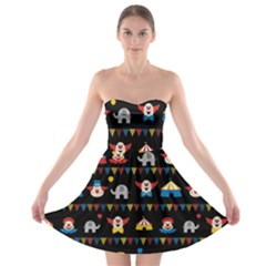 Circus Strapless Bra Top Dress