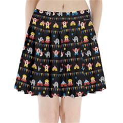 Circus Pleated Mini Skirt