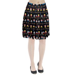 Circus Pleated Skirt