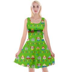 Circus Reversible Velvet Sleeveless Dress