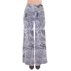 Vintage newspaper  Pants