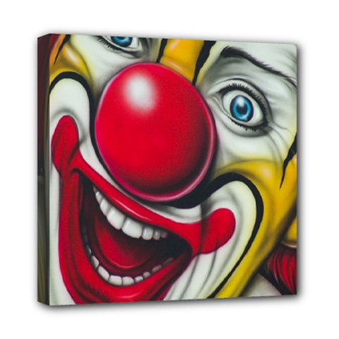 Clown Mini Canvas 8  x 8