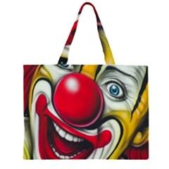 Clown Large Tote Bag