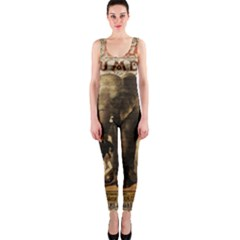Vintage circus  OnePiece Catsuit