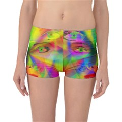 Rainbow girl Boyleg Bikini Bottoms