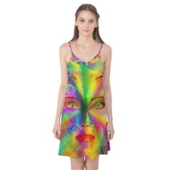 Rainbow girl Camis Nightgown