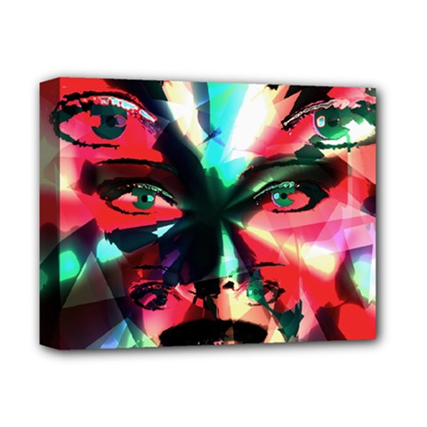 Abstract girl Deluxe Canvas 14  x 11