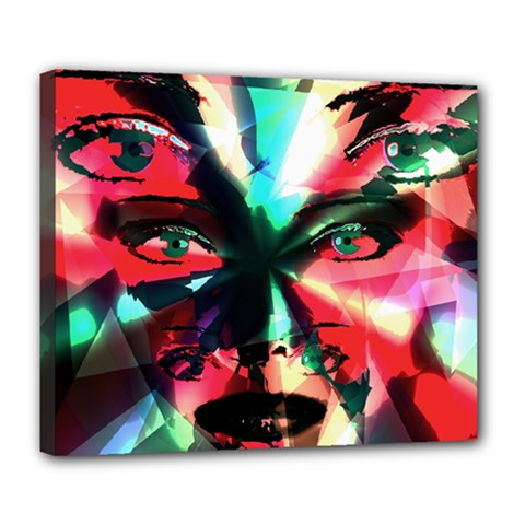 Abstract girl Deluxe Canvas 24  x 20