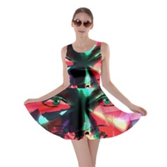 Abstract girl Skater Dress