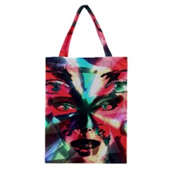 Abstract girl Classic Tote Bag