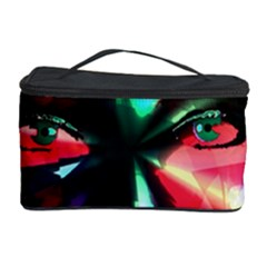 Abstract Girl Cosmetic Storage Case