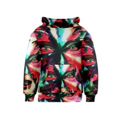 Abstract girl Kids  Pullover Hoodie