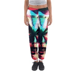 Abstract girl Women s Jogger Sweatpants