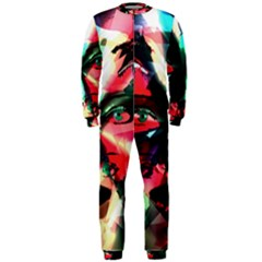 Abstract girl OnePiece Jumpsuit (Men)