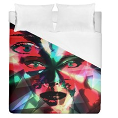 Abstract girl Duvet Cover (Queen Size)
