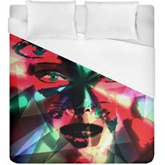 Abstract girl Duvet Cover (King Size)