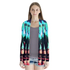 Abstract girl Cardigans