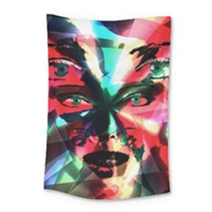 Abstract girl Small Tapestry